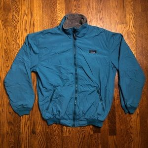 Vtg LL Bean Fleece Lined Full Zip 3 Season Jacket